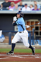 Charlotte Stone Crabs second baseman Thomas Coyle (6) during a game against the Bradenton Marauders on April 4, 2014 at Charlotte Sports Park in Port Charlotte, Florida.  Bradenton defeated Charlotte 9-1.  (Mike Janes/Four Seam Images)
