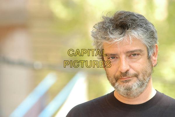 "MANUEL HUERGA.Photocall for the film ""Salvador (Puig Antich)"" in Rome, Italy..April 12th, 2007.headshot portrait beard facial hair.CAP/CAV.©Luca Cavallari/Capital Pictures"