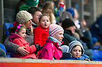 St Johnstone v Dunfermline....25.02.12   SPL.The Ormond Stand full of families taking part in the special offer.Picture by Graeme Hart..Copyright Perthshire Picture Agency.Tel: 01738 623350  Mobile: 07990 594431