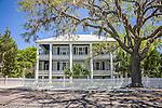 John Joyner Smith House - circa 1785, a lovely antebellum home in Beaufort, SC, a National Historic District.
