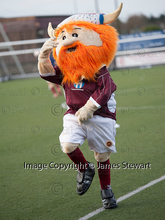 Stenny mascot, Wally the Warrior, does it Gangnam Style.
