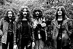 Black Sabbath 1970 Bill Ward Geezer Butler Tony Iommi and Ozzy Osbourne<br /> © Chris Walter