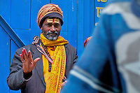 Sadhu in Durbar Square and old Town Area