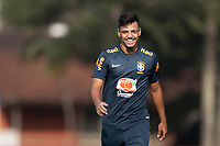 7th October 2020; Granja Comary, Teresopolis, Rio de Janeiro, Brazil; Qatar 2022 qualifiers; Gabriel Menino of Brazil during training session
