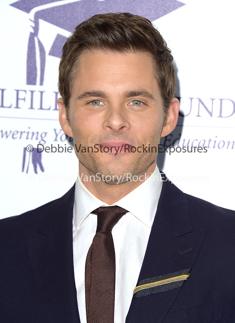 James Marsden at The 20th Annual Fulfillment Fund Stars Benefit Gala held at The Beverly Hilton Hotel in Beverly Hills, California on October 14,2014                                                                               © 2014 Hollywood Press Agency