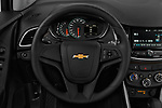 Car pictures of steering wheel view of a 2018 Chevrolet Trax LS 5 Door SUV Steering Wheel