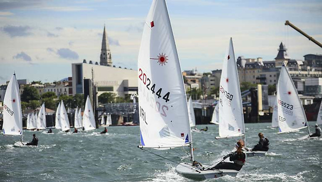 The Dublin Bay Laser fleet is the largest in Ireland with over 100 boats sailed out of the RStGYC alone this season