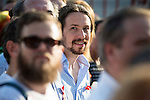 "Leader ""Podemos"" Pablo Iglesias attends to the protest during Gay Pride celebrations in Madrid, Spain. July 04, 2015.<br />  (ALTERPHOTOS/BorjaB.Hojas)"