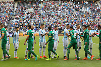 Seattle, WA - Tuesday June 14, 2016: Argentina, Bolivia  during a Copa America Centenario Group D match between Argentina (ARG) and Bolivia (BOL) at CenturyLink Field.