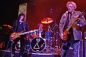 HOLLYWOOD , FL - AUGUST 2 : Rev Jones, Corky Laing and Leslie West of Mountain perform at Hard Rock Live held at The Seminole Hard Rock Hotel & Casino  August 2, 2007 in Hollywood FL.  Credit Larry Marano © 2007