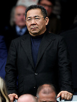 Leicester City Chairman Vichai Srivaddhanaprabha during the Barclays Premier League match between Leicester City and Swansea City played at The King Power Stadium, Leicester on April 24th 2016