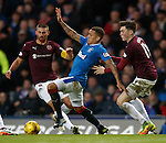 James Tavernier with Perry Kitcken and John Souttar