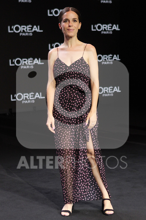 Nuria Gago at the L'Oreal Paris anniversary fashion show during the Mercedes Benz Fashion Week Spring/Summer 2020 at Ifema on July 10, 2019 in Madrid, Spain.(ALTERPHOTOS/ItahisaHernadez)