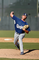 Garrett Gould - Los Angeles Dodgers 2009 Instructional League. .Photo by:  Bill Mitchell/Four Seam Images..