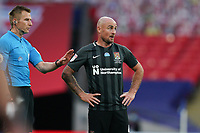 Alan McCormack of Northampton Town during the Sky Bet League 2 PLAY-OFF Final match between Exeter City and Northampton Town at Wembley Stadium, London, England on 29 June 2020. Photo by Andy Rowland.