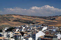 Spanien, Andalusien, Blick auf Alhama de Granada