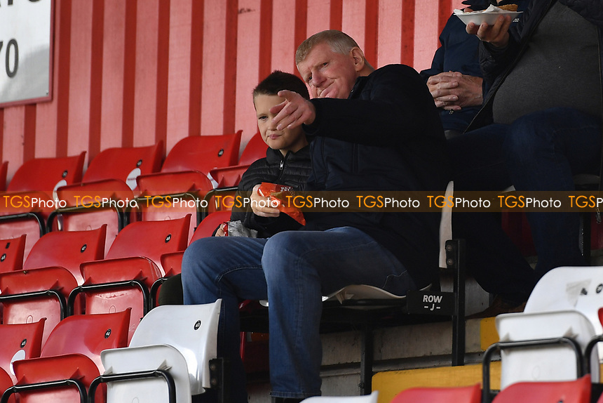 Fans EFL Games during Stevenage vs Exeter City, Sky Bet EFL League 2 Football at the Lamex Stadium on 9th October 2021