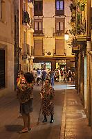 Europe/Espagne/Pays Basque/Guipuscoa/Goierri/Ordizia: Ruelle du quartier historique