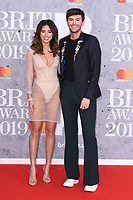 Montana Brown<br /> arriving for the BRIT Awards 2019 at the O2 Arena, London<br /> <br /> ©Ash Knotek  D3482  20/02/2019<br /> <br /> *images for editorial use only*