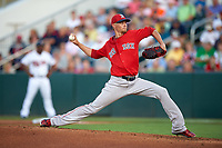 Boston Red Sox starting pitcher Clay Buchholz (11) delivers a pitch during a Spring Training game against the Minnesota Twins on March 16, 2016 at Hammond Stadium in Fort Myers, Florida.  Minnesota defeated Boston 9-4.  (Mike Janes/Four Seam Images)