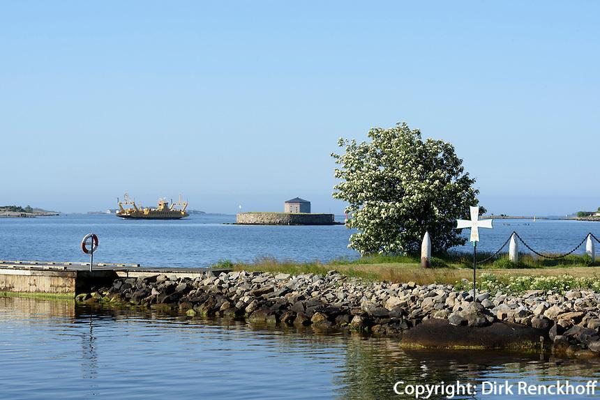 Ehemalige Marineanlagen auf Stumholmen in Karlskrona, Provinz Blekinge, Schweden, Europa, UNESCO-Weltkulturerbe<br /> Former Marine grounds on Stumholmen in Karlskrona, Province Blekinge, Sweden