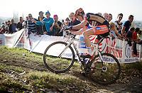 Wout Van Aert (BEL/Vastgoedservice-Golden Palace)<br /> <br /> Koppenbergcross 2014