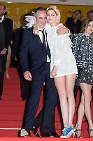 director Olivier Assayas, actress Kristen Stewart - CANNES 2016 - DESCENTE DU FILM 'PERSONAL SHOPPER'