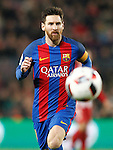 FC Barcelona's Leo Messi during Spanish Kings Cup semifinal 2nd leg match. February 07,2017. (ALTERPHOTOS/Acero)