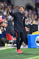 Orlando, FL - Wednesday July 31, 2019:  Diego Simeone during an Major League Soccer (MLS) All-Star match between the MLS All-Stars and Atletico Madrid at Exploria Stadium.