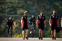 30th October 2020, Imola, Italy; FIA Formula 1 Grand Prix Emilia Romagna, inspection day; Daniel Ricciardo AUS 3, Renault DP World F1 Team