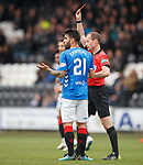 03.11.18 St Mirren v Rangers: Daniel Candeias sent off