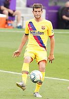 FC Barcelona's Sergi Roberto during La Liga match. July 11,2020. (ALTERPHOTOS/Acero)<br /> 11/07/2020<br /> Liga Spagna 2019/2020 <br /> Valladolid - Barcelona <br /> Foto Alterphotos / Insidefoto <br /> ITALY ONLY
