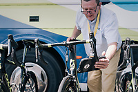 UCI checking for motor doping pre-race<br /> <br /> 104th Tour de France 2017<br /> Stage 6 - Vesoul › Troyes (216km)
