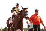 Contested with jockey Rafael Bejarano wins the Test Stakes(G1). Saratoga Race Course, Saratoga Springs, New York. 08-25-2012.  Arron Haggart/Eclipse Sportswire