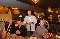 Rotterdam, The Netherlands, 18 Februari, 2018, ABNAMRO World Tennis Tournament, Ahoy, Chefs Table<br /> <br /> Photo: www.tennisimages.com