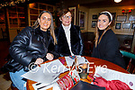 Orla and Cathy White and Miriam Leane enjoying the evening in the Mall Tavern on Friday.