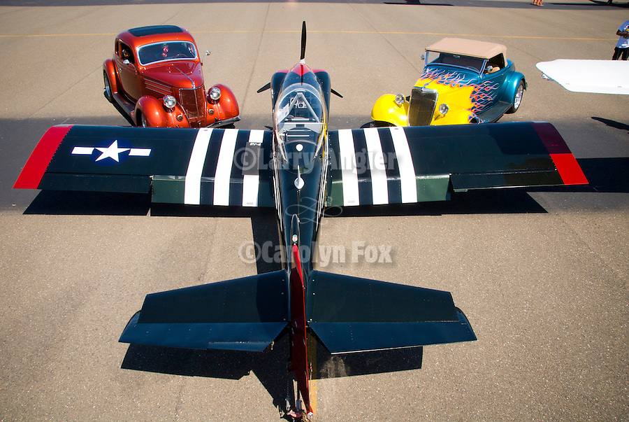 2nd Wings and Wheels at Airport Appreciation Day, Westover Field, Martell, Calif.
