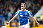 St Johnstone v Inverness Caley Thistle.....27.04.13      SPL.Steven MacLean celebrates his goal.Picture by Graeme Hart..Copyright Perthshire Picture Agency.Tel: 01738 623350  Mobile: 07990 594431