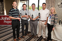 Best Tean Par 3 is Pedegree Automotive's Stewart Fries, Andy Leaster, Trevor Harris and Lawrence Pacey with NCBC Chairman Dianne Allen