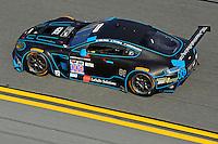 22-25 January, 2015, Daytona Beach, Florida USA<br /> 009, Aston Martin, V12 Vantage, GTD, Derek DeBoer, Max Riddle<br /> ©2015, F. Peirce Williams
