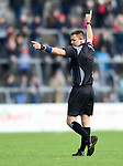 Referee Rory Hickey during the senior county final replay at Cusack park. Photograph by John Kelly.