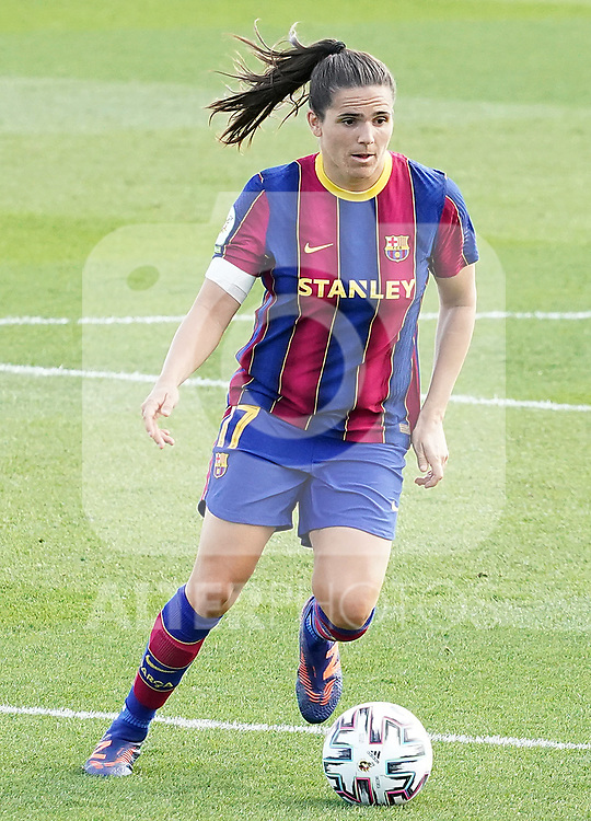 First official match and first classic in the history of women's Real Madrid.<br /> FC Barcelona's Andrea Pereira during Spanish Female League match. October 4,2020. (ALTERPHOTOS/Acero)