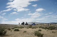race leader Rubén Plaza (ESP/Lampre) will stay ahead of the rest for a whole day<br /> <br /> stage 20: San Lorenzo de el Escorial - Cercedilla (176km)<br /> 2015 Vuelta à Espana