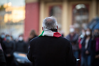 Fabrizio De Sanctis, President of ANPI of Rome (ANPI National Association of WWII Italian Partizans). <br />