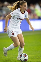 Stanford, CA - December 8, 2019: Carly Malatskey at Avaya Stadium. The Stanford Cardinal won their 3rd National Championship, defeating the UNC Tar Heels 5-4 in PKs after the teams drew at 0-0.
