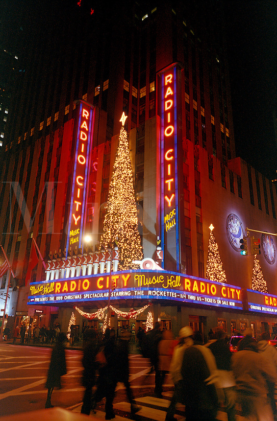 Radio City Music Hall, NYC, New York City.