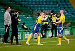 Celtic v St Johnstone…12.05.21  SPFL Celtic Park<br />John Robertson comes on for Chris Kane<br />Picture by Graeme Hart.<br />Copyright Perthshire Picture Agency<br />Tel: 01738 623350  Mobile: 07990 594431