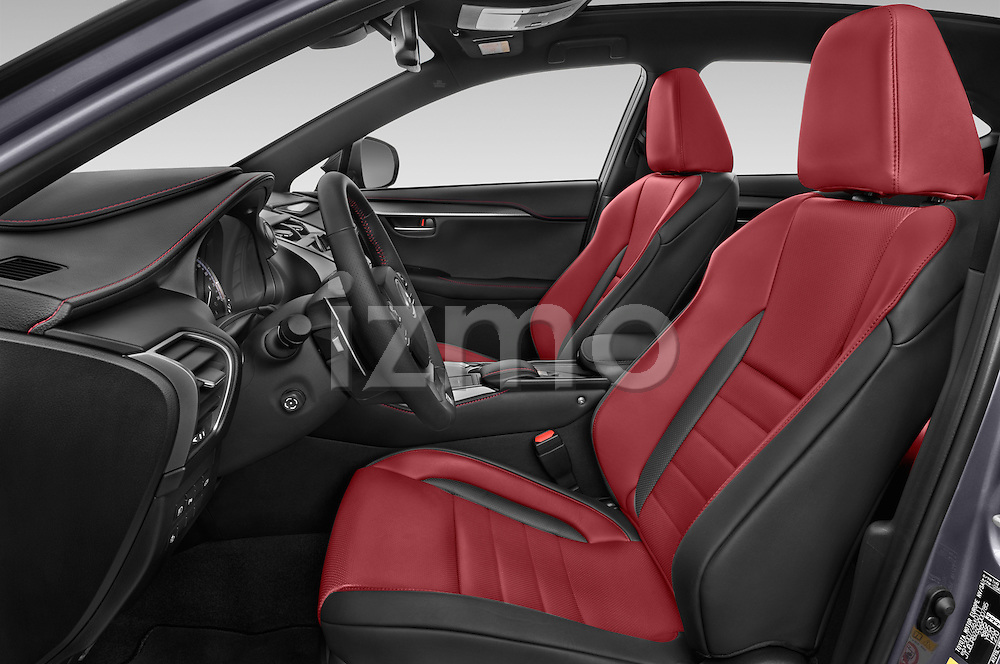 Front seat view of a 2015 Lexus NX 300h F Sport 4WD 5 Door SUV 4WD Front Seat car photos