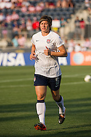 Amy LePeilbet (6) of the United States (USA). The United States (USA) women defeated China PR (CHN) 4-1 during an international friendly at PPL Park in Chester, PA, on May 27, 2012.
