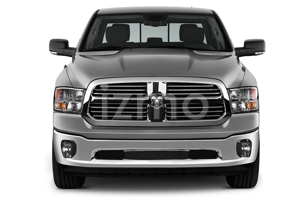 Straight front view of a 2013 Dodge RAM 1500 Big Horn Crew Cab